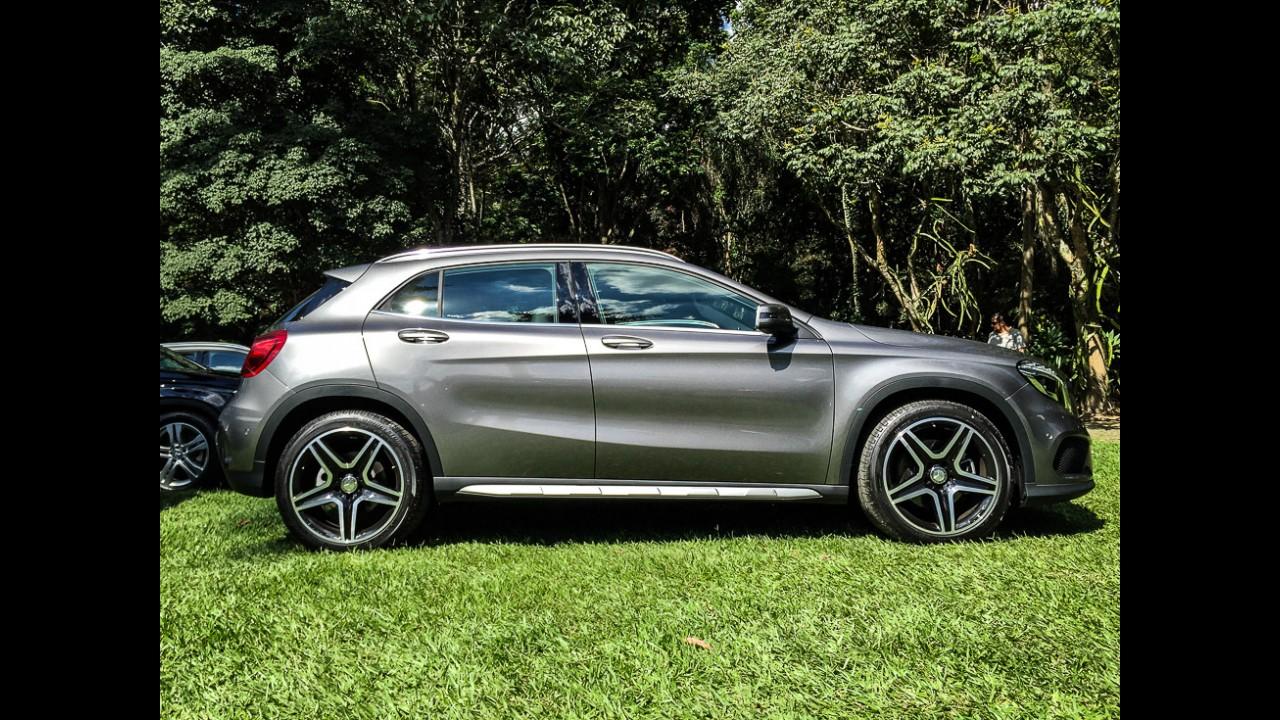 Mercedes lança GLA 250 com motor 2.0 de 211 cv por R$ 171.900