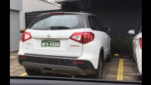 Flagra: Limpinho, novo Suzuki Vitara está pronto para a estreia em novembro