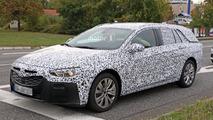 2017 Opel Insignia wagon spy photo