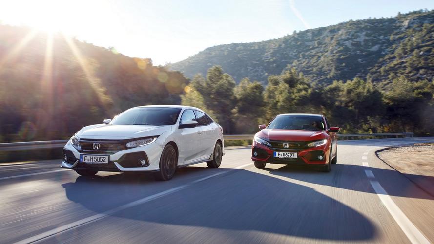 Honda mostra detalhes do Civic para a Europa