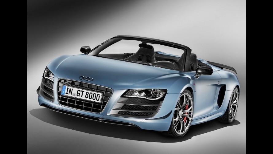 Audi revela oficialmente R8 GT Spyder - Esportivo vai de 0 a 100km/h em 3,8 s
