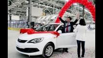 Chery mostra primeiro carro feito no Brasil: é o novo Celer
