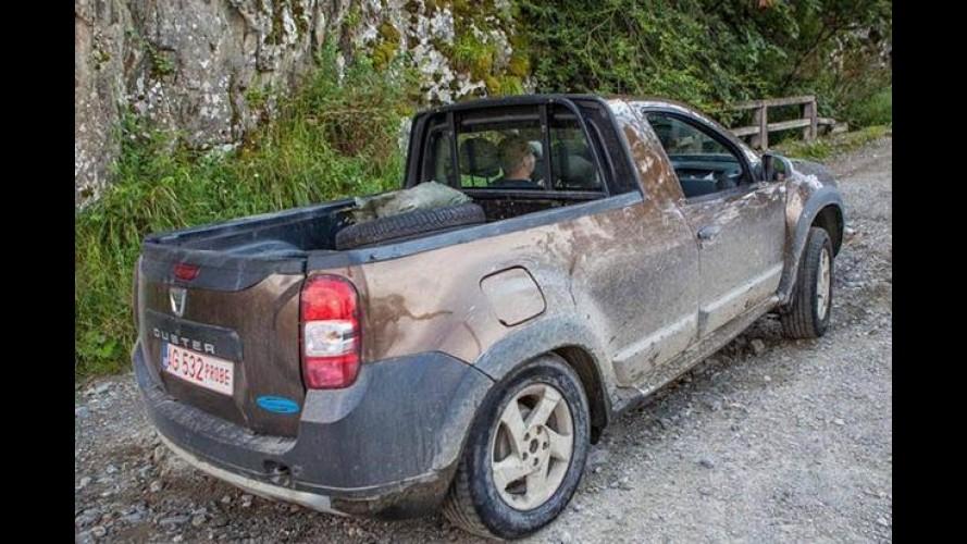 Flagra: picape Duster é pega em testes sem camuflagem!
