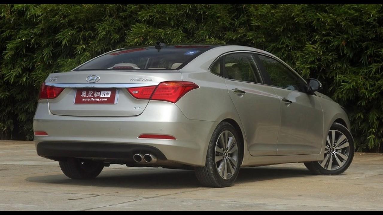 Exclusivo da China, Hyundai Mistra é opção intermediária entre Elantra e Sonata