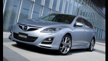 Divulgadas imagens do Mazda 6 2011 - Modelo reestilizado estará no Salão de Genebra