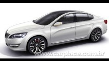 Kia VG Concept - Vaza imagem do novo sedan