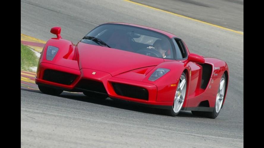 Ferrari confirma motorização híbrida para sucessora da Enzo, que chega em 2013
