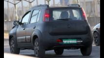 Flagra: Fiat já testa Uno reestilizado e com motor de três cilindros