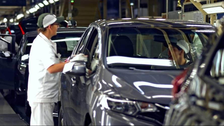 Produção de veículos subiu 42% em outubro, diz Anfavea