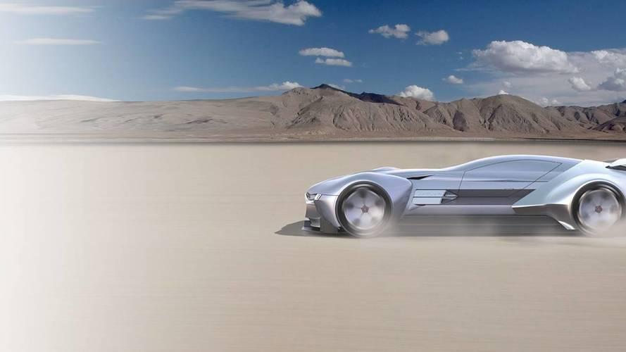 Akár ez a Jaguar hiperautó is lehetne James Bond következő választása