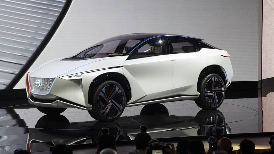 Nissan IMx Concept Debuts With Bold Look, 373-Mile Range