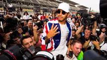 Lewis Hamilton et Michael Schumacher