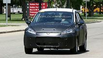 Ford Fiesta Sedan Spy Photos