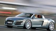 Audi R8 Spyder rendering