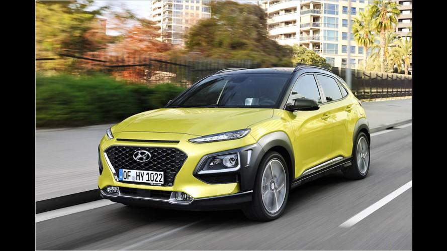 Kleines SUV Hyundai Kona im Test