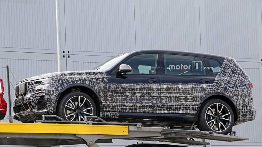 Le BMW X7 se montre une nouvelle fois