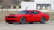 Dodge Challenger Hellcat Drag Pack Spy Photos