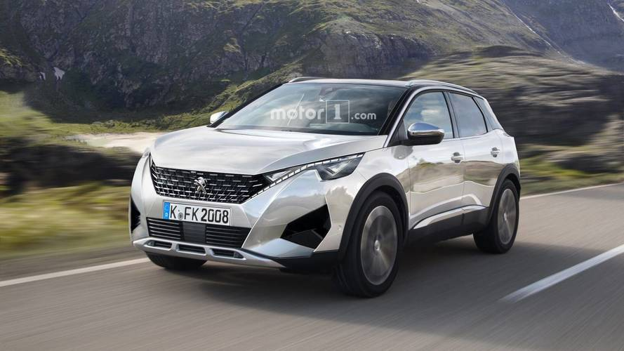 Next-Generation Peugeot 2008 Rendered With 3008 Cues