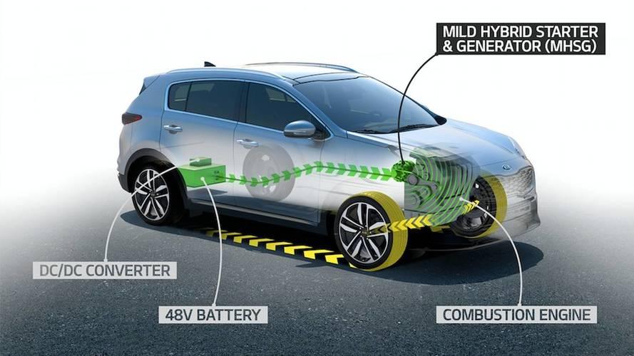 Kia, in arrivo anche l'ibrido (mild) diesel