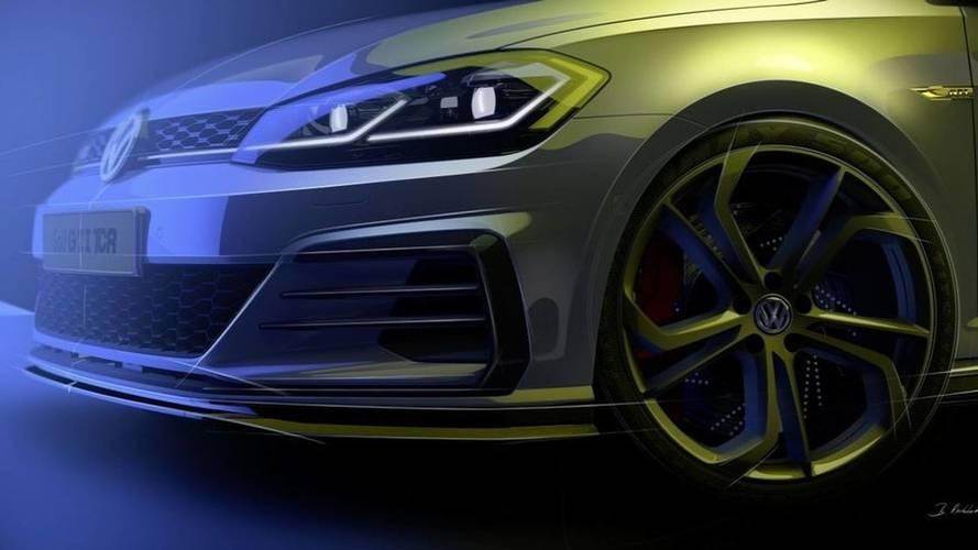 Volkswagen Golf GTI TCR, il teaser