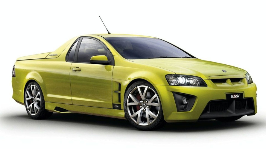 HSV GTS Maloo special edition to become world's fastest ute - report