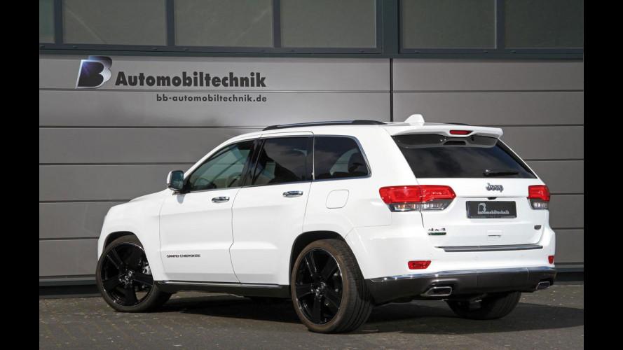 Jeep Grand Cherokee, organismo elettronicamente potenziato