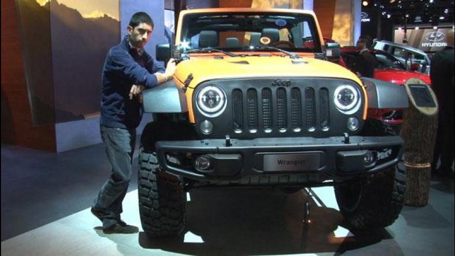 Salone di Francoforte, tutte le Jeep più estreme [VIDEO]