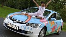 Honda Civic Hybrid and Paige Lewis