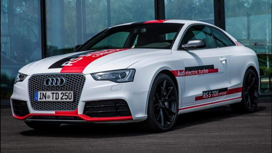 Audi RS 5 TDI concept, quella col turbo elettrico