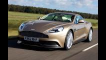 Aston Martin Vanquish: nuove foto