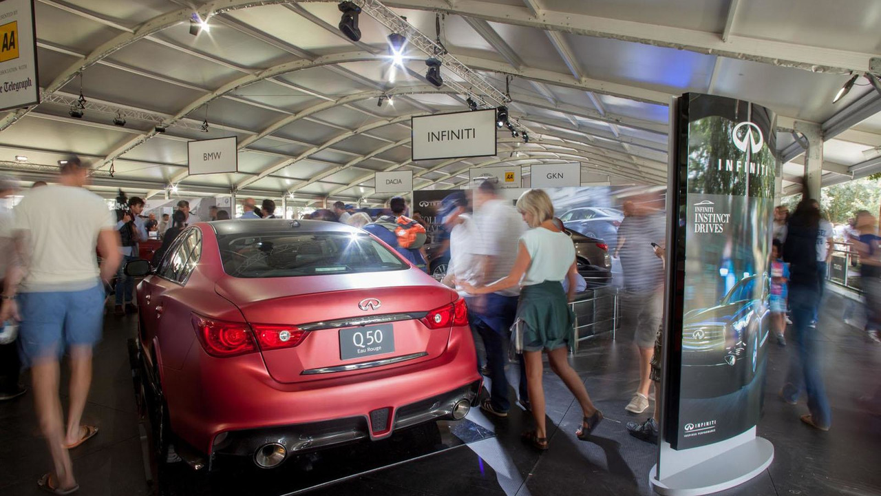 Infiniti Q50 Eau Rogue prototype at Goodwood Festival of Speed