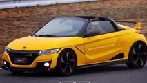 Honda S1000 Type R render
