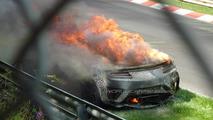 2015 Honda/Acura NSX prototype catches fire