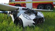 AeroMobil crashed in Slovakia