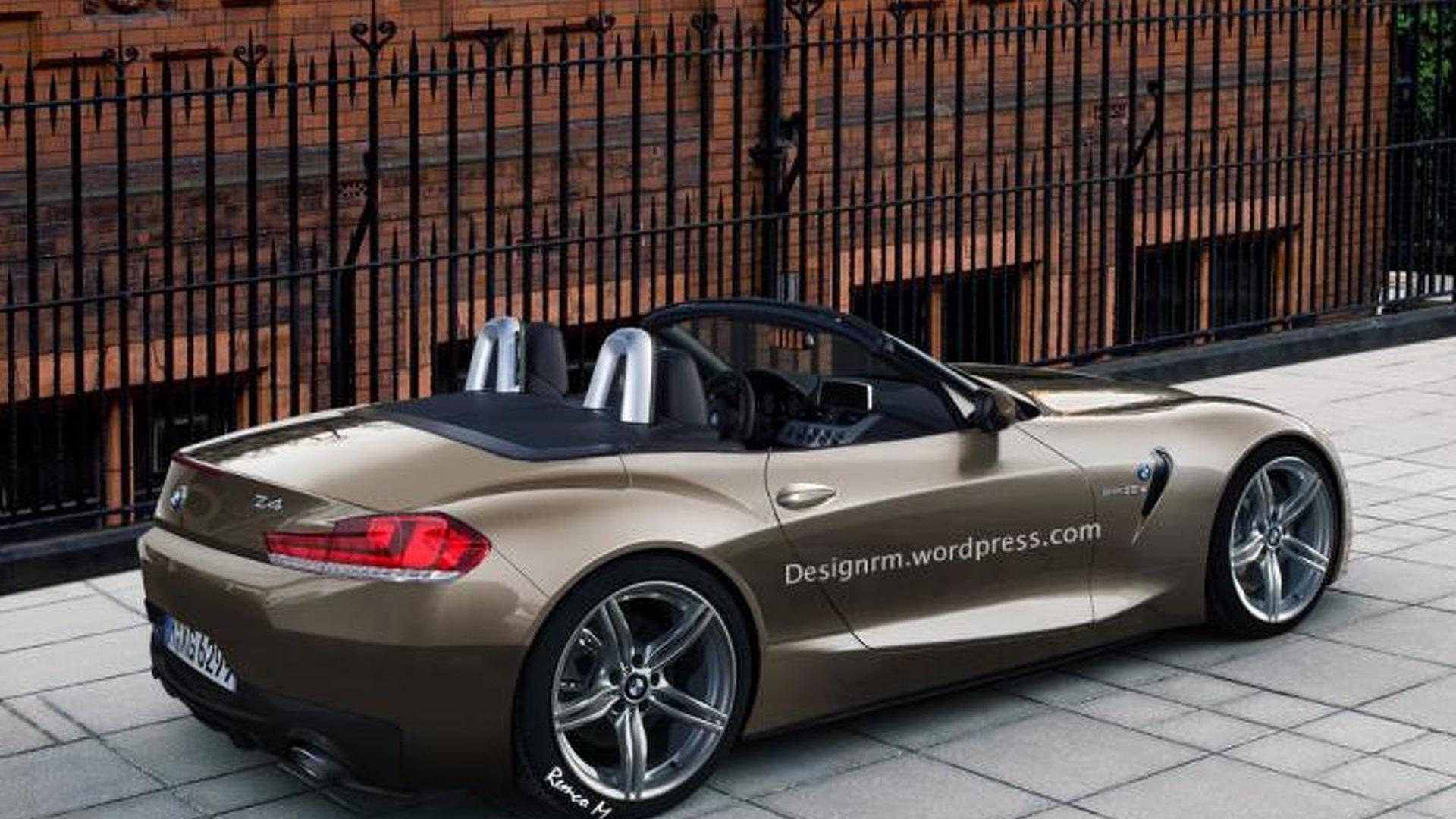 2017 2018 bmw z4 roadster imagined. Black Bedroom Furniture Sets. Home Design Ideas