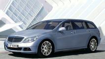 New Mercedes C-Class Estate - Artist Impression