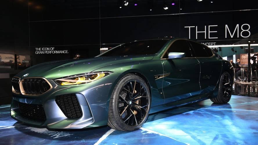 Salon de Genève 2018 : BMW présente son inédit concept M8 Gran Coupé