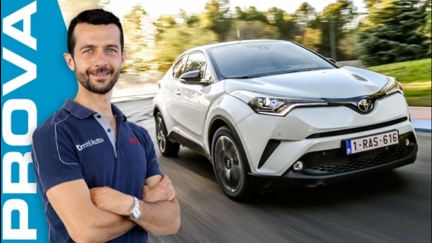 Toyota C-HR, il SUV compatto che si fa notare [VIDEO]