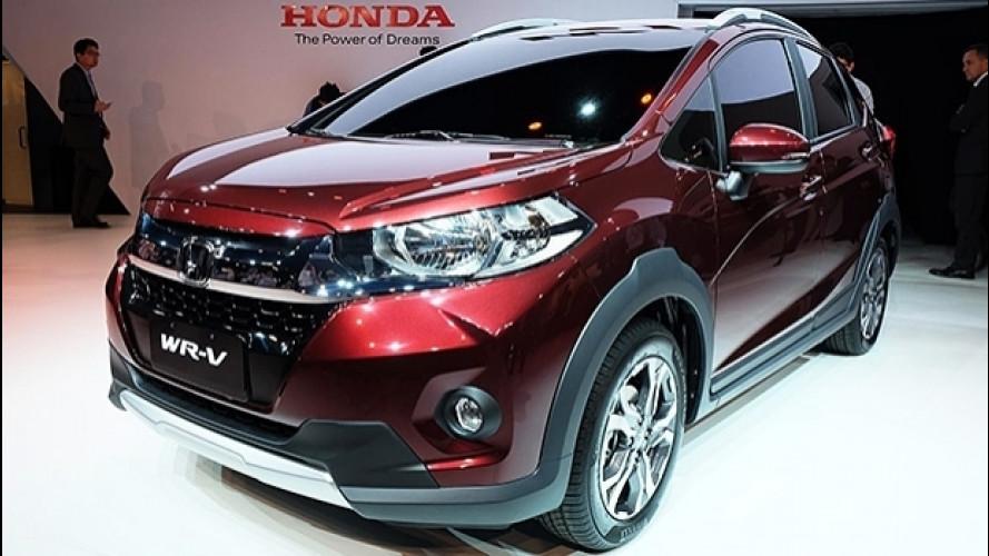 Honda WR-V, il crossover stiloso per il Sud America