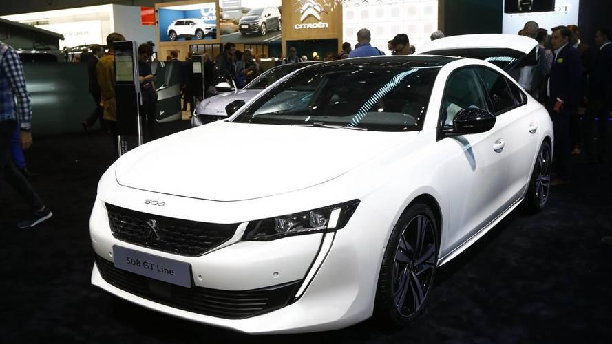Peugeot 508 au salon de Genève 2018