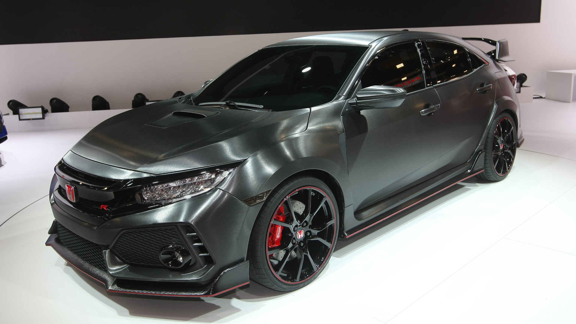 honda pr sente un prototype de sa civic type r. Black Bedroom Furniture Sets. Home Design Ideas
