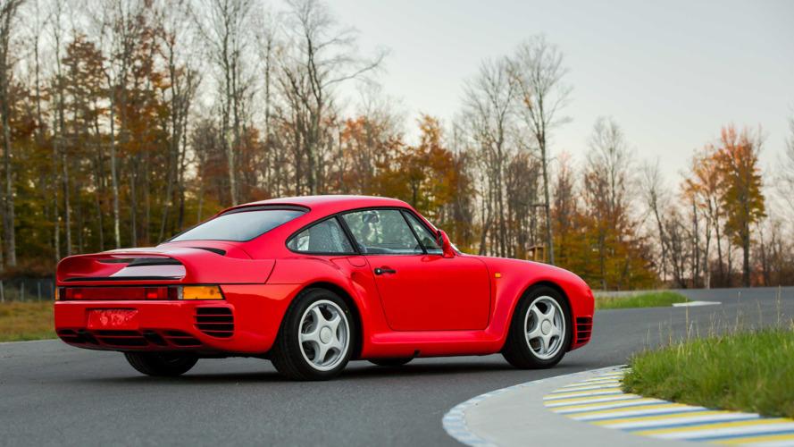 1987 model Porsche 959, açık arttırmada 1.3 milyon USD hedefliyor