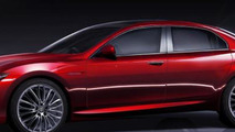 Alfa Romeo Giulia sedan speculative renderings 07.01.2012