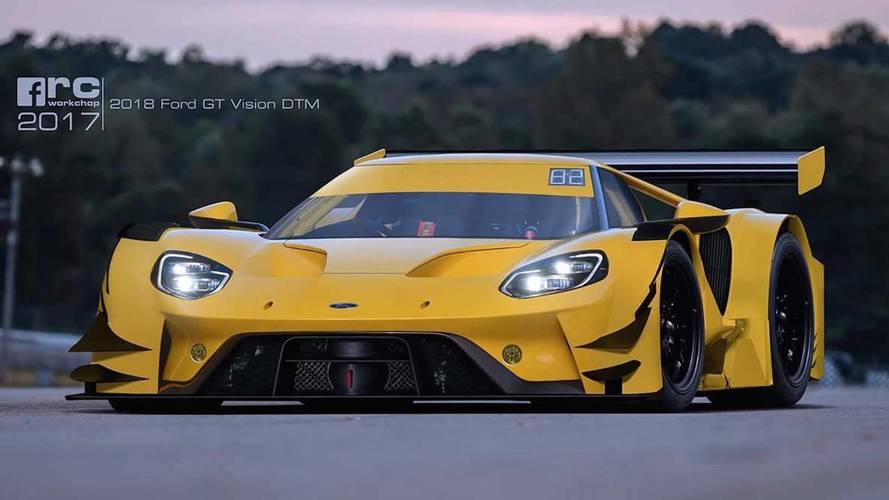 ¿Te imaginas un Ford GT corriendo en el DTM?