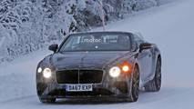 Bentley Continental GTC 2018 fotos espía