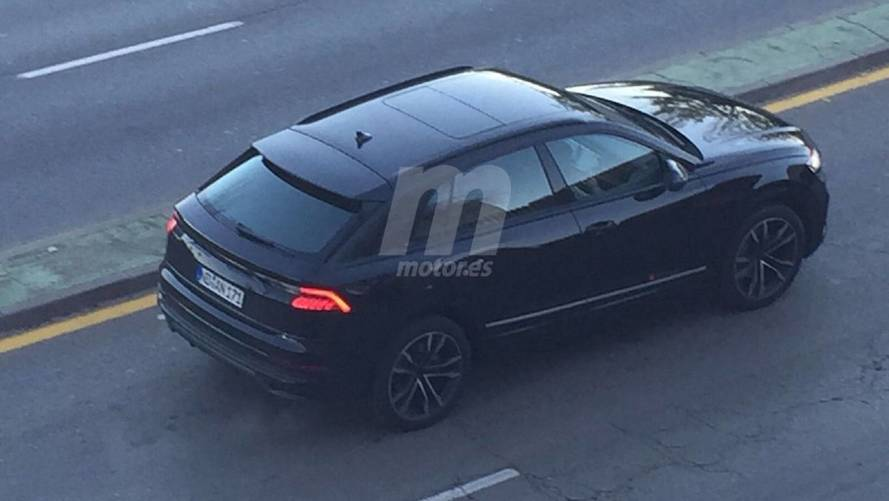 New Audi Q8 Spy Photos