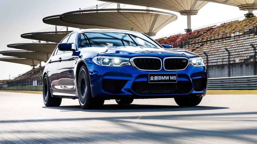 BMW M5, Şanghay'da pist rekorunu kırdı
