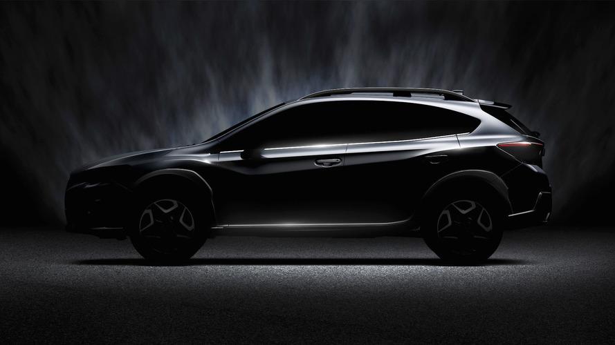 Yeni jenerasyon Subaru Crosstrek'in teaser görüntüsü