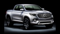 Mercedes: futura picape GLT será bem mais que um simples 'rebadge'