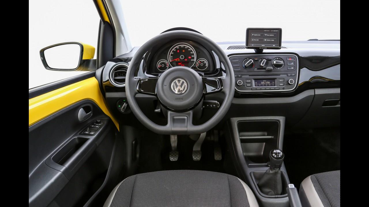 VW up! de entrada no Uruguai custa o mesmo que a versão de topo no Brasil